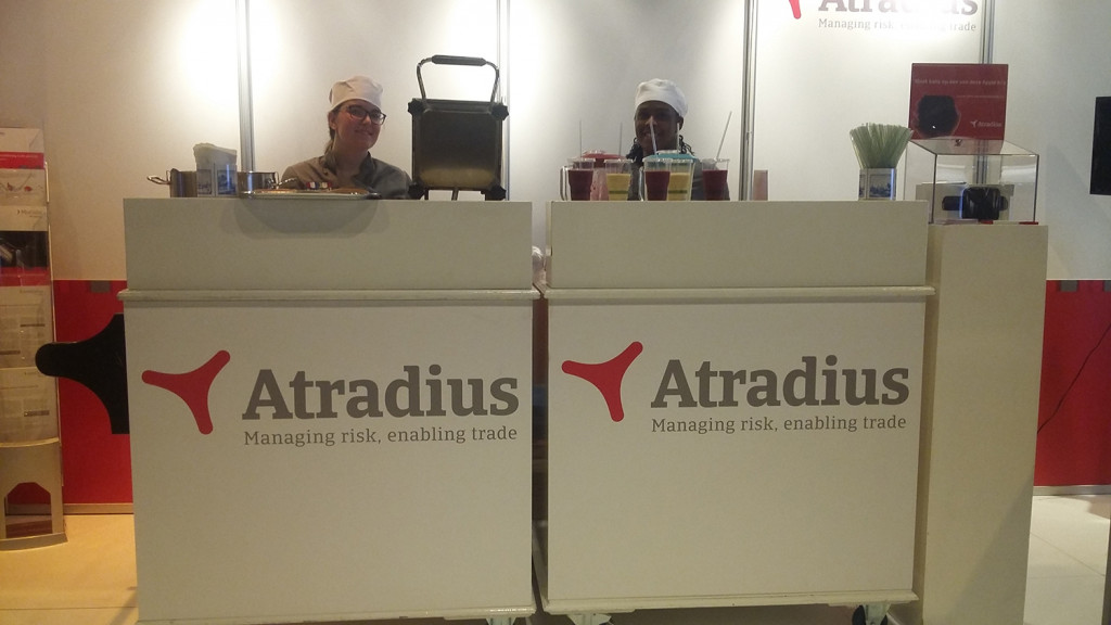 Verse smoothies voor de bezoekers van Atradius