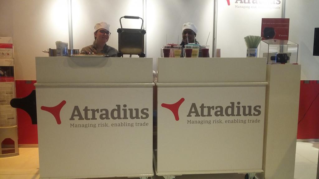 Heerlijke poffertjes voor de bezoekers van Atradius