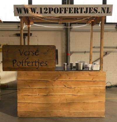 De Oud-Hollandse poffertjeskraam huren met verse poffertjes